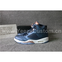 "Authentic Air Jordan 5 ""Bronze"""