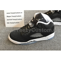 Authentic Air Jordan 5 Oreo