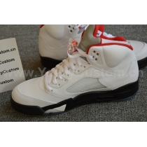 Authentic Air Jordan 5 Retro Fire Reds