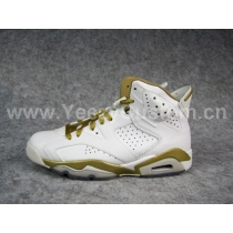 Authentic Air Jordan 6 Gold Moment Package