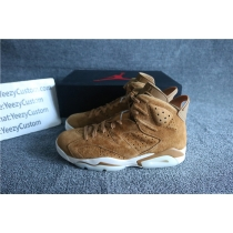 Authentic Air Jordan 6 Golden Harvest