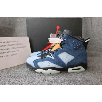 Authentic Nike Air Jordan 6 Washed Denim