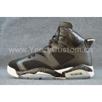 Authentic Air Jordan 6 Black Oreo