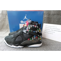 Authentic Air Jordan 8 Black Quai 54