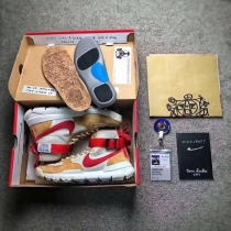 Authentic Tom Sachs x Nikecraft Mars Yard 2.0 High Top Men and GS