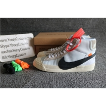 Authentic Off White X Nike Blazer Studio Mid