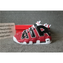 Authentic Nike AIR MORE UPTEMPO '96  BULLS Men AND GS