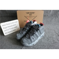 Authentic Nike Uptempo Cool Grey