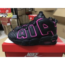 Authentic Nike AIR MORE UPTEMPO Black Purple GS