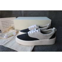 Authentic Nike Fear Of God Low Vintage Black/Bone Suede Sneaker