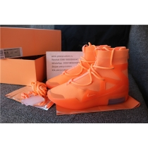 Authentic Nike Air Fear Of God 1 Orange Pulse
