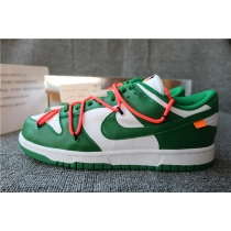 Authentic Off white  X Nike Dunk Low LTHR/OW