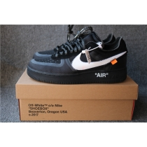 Authentic Air Force 1 low OFF White Black