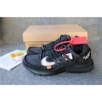 Authentic Off White X Nike Presto Black