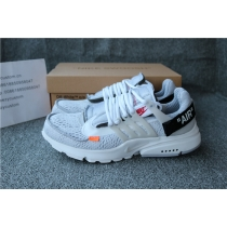 Authentic Off White X Nike Presto Grey
