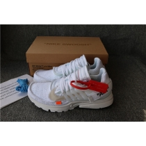 Authentic Off White X Nike Presto White
