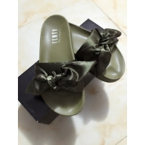 Rihanna x Puma Fenty Bow Women Slipper Green