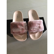 Rihanna x Puma Fenty Fur Leadcat Slides Women Slipper Pink