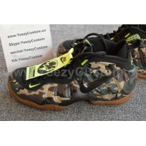 Authentic Nike Air Foamposite One Camo