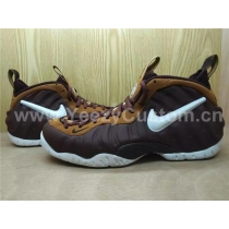 Authentic Nike Air Foamposite One Chocolate