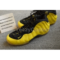 Authentic Nike Air Foamposite One Yellow