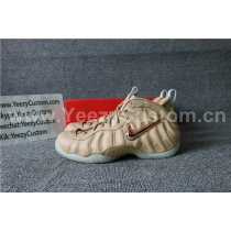Authentic Nike Air Foamposite One Vachetta Tan