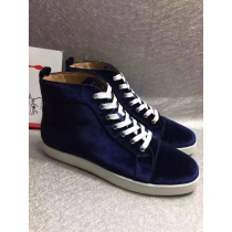 Super High End Christian Louboutin Flat Sneaker High Top(With Receipt) - 0048
