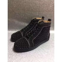 Super High End Christian Louboutin Flat Sneaker High Top(With Receipt) - 0027