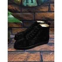 Super High End Christian Louboutin Flat Sneaker High Top(With Receipt) - 0122