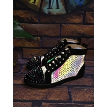 Super High End Christian Louboutin Flat Sneaker High Top(With Receipt) - 0126