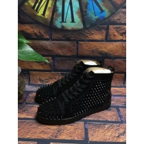 Super High End Christian Louboutin Flat Sneaker High Top(With Receipt) - 0127