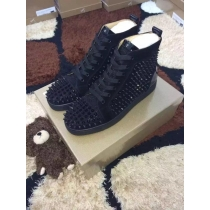 Super High End Christian Louboutin Flat Sneaker High Top(With Receipt) - 0168