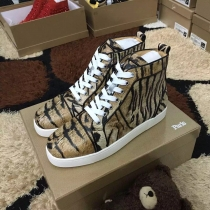 Super High End Christian Louboutin Flat Sneaker High Top(With Receipt) - 0171