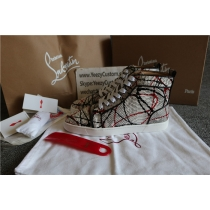 Super High End Christian Louboutin Flat Sneaker High Top(With Receipt) - 0175