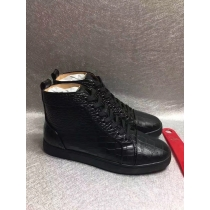 Super High End Christian Louboutin Flat Sneaker High Top(With Receipt) - 0044