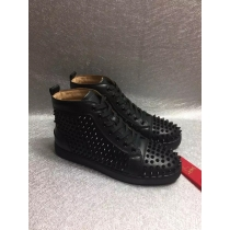 Super High End Christian Louboutin Flat Sneaker High Top(With Receipt) - 0064