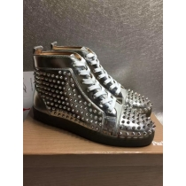 Super High End Christian Louboutin Flat Sneaker High Top(With Receipt) - 0069