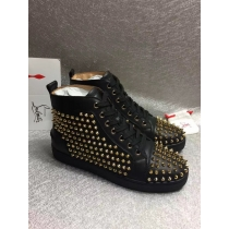 Super High End Christian Louboutin Flat Sneaker High Top(With Receipt) - 0082
