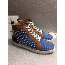 Super High End Christian Louboutin Flat Sneaker High Top(With Receipt) - 0085