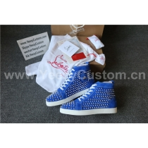 Super High End Christian Louboutin Flat Sneaker High Top(With Receipt) - 0024