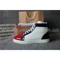 Super High End Christian Louboutin Flat Sneaker High Top(With Receipt) - 0089