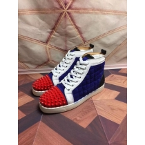 Super High End Christian Louboutin Flat Sneaker High Top(With Receipt) - 0094