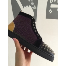 Super High End Christian Louboutin Flat Sneaker High Top(With Receipt) - 0103