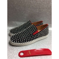 Super High End Christian Louboutin Flat Sneaker Low Top(With Receipt) - 0127