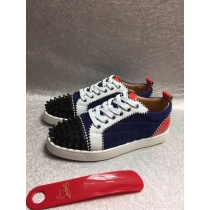 Super High End Christian Louboutin Flat Sneaker Low Top(With Receipt) - 0130