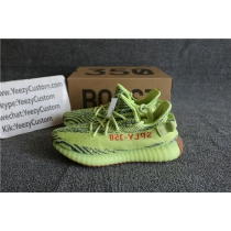 Authentic Adidas Yeezy 350 Boost V2 Semi Frozen Yellow F15
