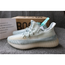 Authentic Adidas Yeezy Boost 350 V2 Cloudy White Non Reflective Men Shoes