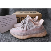 Authentic Adidas Yeezy 350 V2 Pink Static Non Reflective Men Shoes