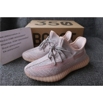 Authentic Adidas Yeezy 350 V2 Pink Static Non Reflective Women Shoes