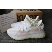 Authentic Adidas Yeezy Boost 350 V2 Static White Colorful